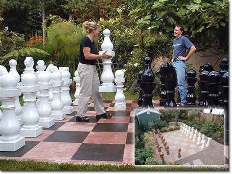 yard sized board games nomi klein chess sets