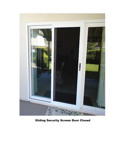 Sliding Screen Doors by Sliding Security Screen Doors Screens 4 Less