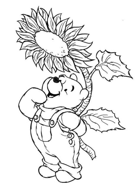 winnie the pooh thanksgiving pictures az coloring pages