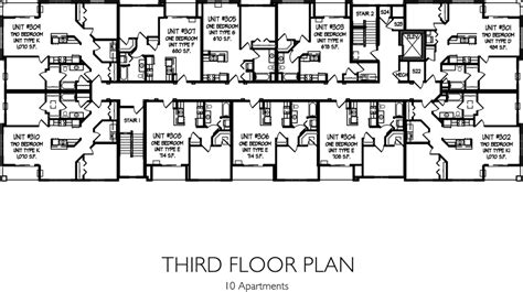 floor plan 3rd street floor plans residences on main