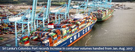Port Records Sri Lanka S Colombo Port Records Increase In Container Volumes Handled From Jan Aug