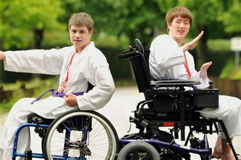 Wheel Chair Jimmy by How South Wales Competitors Are Pioneering Wheelchair Karate Wales