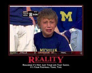 Funny Michigan Memes - this is how walmart wolverines are going to feel next