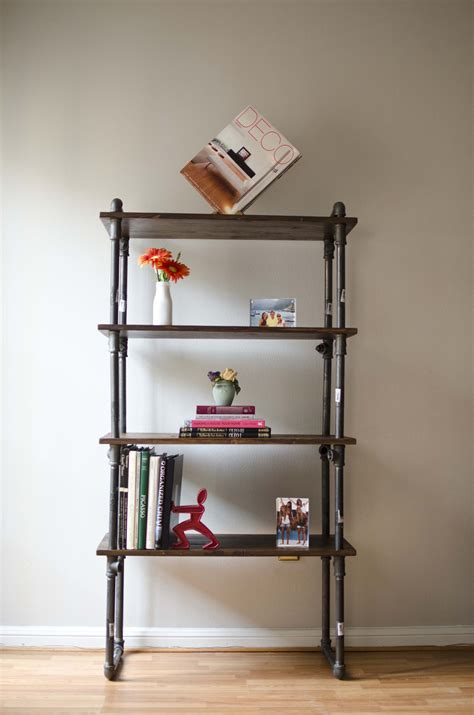 gas pipe bookshelf 28 images lush foundry wood