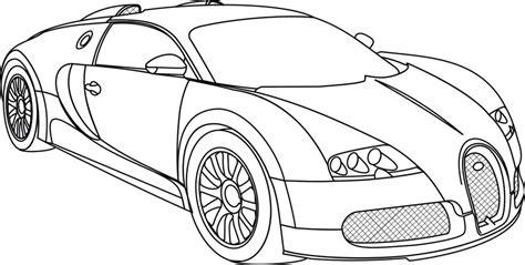 Bugatti Pencil Coloring Pages Bugatti Coloring Pages