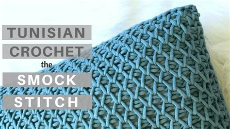 video tutorial tunisian crochet yes it s crochet learn the tunisian crochet smock