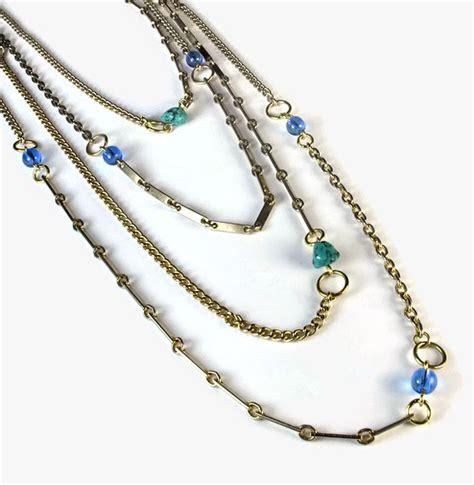 beginners jewelry blukatkraft diy quot patchwork quot chain necklace tutorial