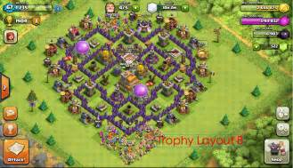 The mantis features a trophy and farming base clash of clans layouts