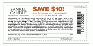 yankee candle printable coupons blogspot the centsible couponer october 2010