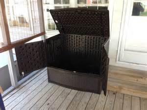 suncast backyard oasis storage and entertaining station outdoor litter box