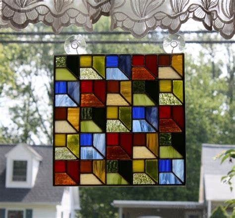 490 best stained glass geometric images on