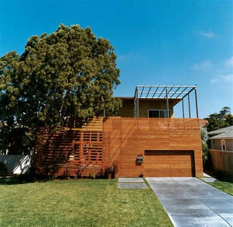 Scandinavian Design House wooden bungalow prefab house 50 highly modern wood and