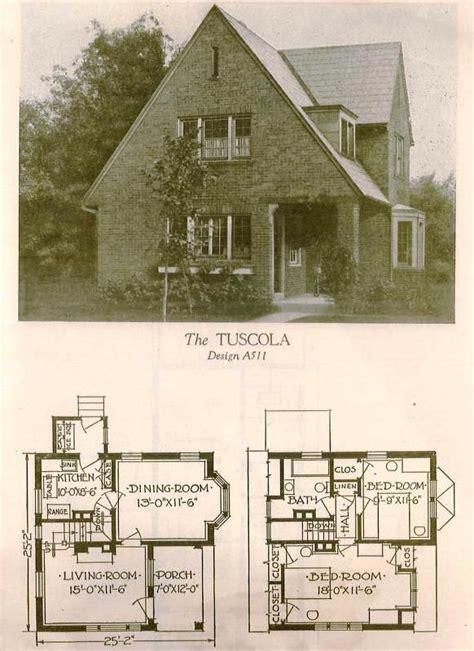 images  early  century house plans  pinterest kit homes house plans  tudor