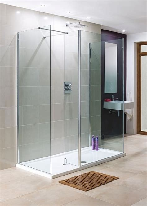 Lakes 1200 x 900mm 3 Panel Walk In Shower Enclosure with