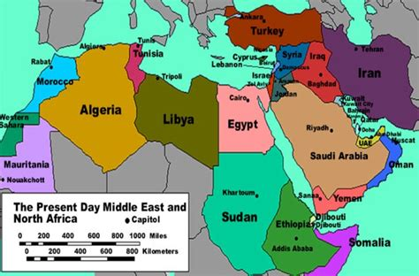 speaking countries in the middle east 崧 mena