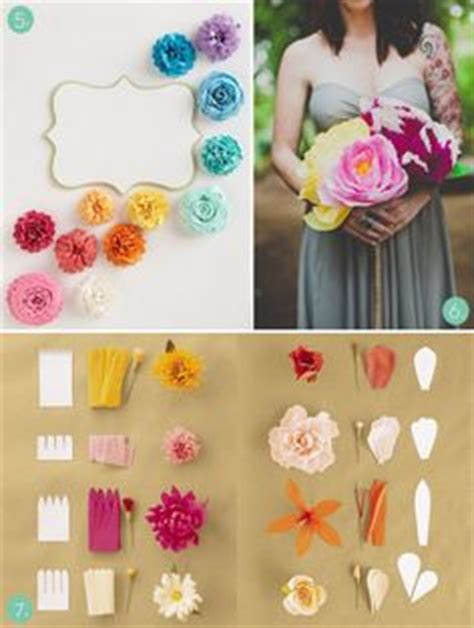How To Make Big Flowers Out Of Crepe Paper - paper flower centerpieces on paper flower