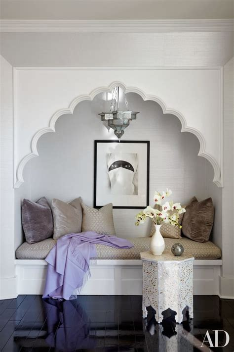 reading nook bench picture of reading nook with an upholstered bench and a