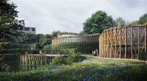 Kengo Kuma Rethinks The Of Kengo Kuma Wins Competition To Design The H C Andersen S House Of Tales