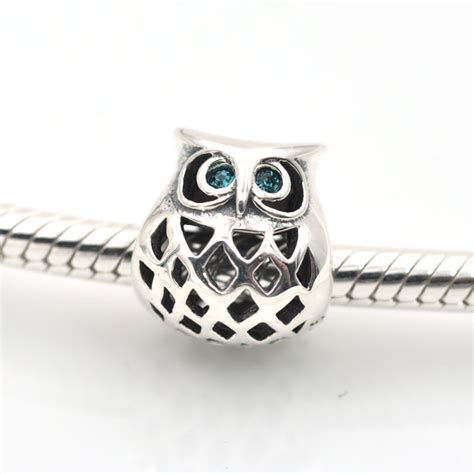 sale 925 sterling silver doctor owl floating charm
