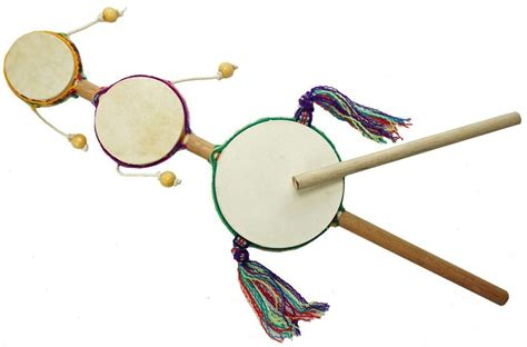 Handmade Items From Around The World - junior spin drum handmade and fair trade drop