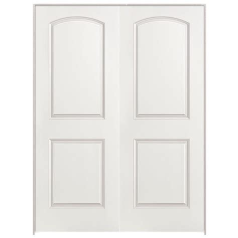 home depot 2 panel interior doors masonite 48 in x 80 in 2 panel top primed