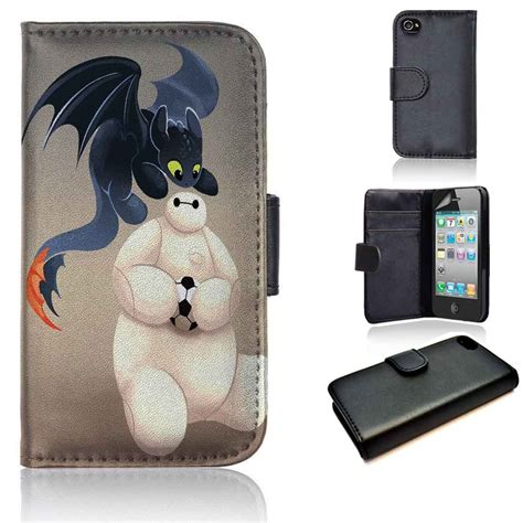 Casing Hp Iphone 4 4s Big 6 Baymax 2 Custom Hardcase Cover baymax and toothless big 6 disney wallet iphone 4 4s 5 5s 5c 6 6