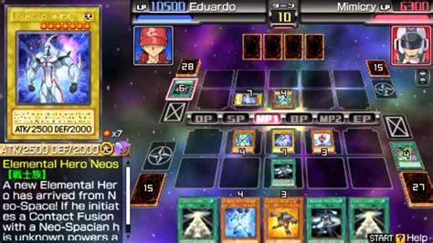 yugioh tag team decks yugioh 5ds tag 6 neos contact fusion jaden yuki vs
