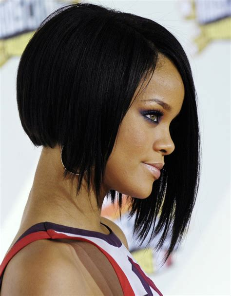 women hair styles straight on sides and back curls on top 25 stunning bob hairstyles for black women