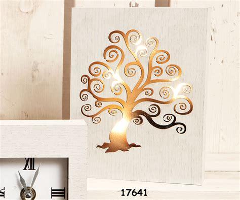 quadri illuminati pannello quadro legno albero della vita illuminati nozze