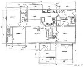 Modular Homes 4 Bedroom Floor Plans by Beautiful 4 Bedroom Modular Home Plans 6 4 Bedroom