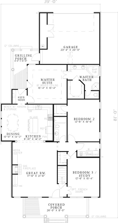 houseplans and more keegan manor plantation home plan 055d 0545 house plans