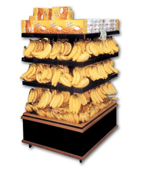 Shelf Of Bananas by Market Merchandising