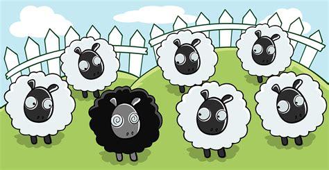 imagenes de ovejas negras efecto oveja negra la oveja negra no es mala solo