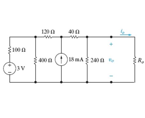 the variable resistor in the circuit is adjusted for maximum power transfer to ro solved the variable resistor in the circuit in figure 1 is adjusted for 1 answer