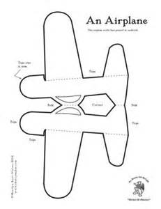Airplane Template by 25 Best Ideas About Airplane Crafts On
