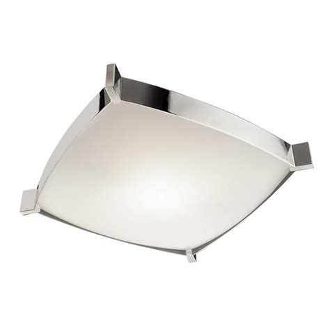 contemporary ceiling light fixtures jesco ctc604l linea modern chrome finish 4 5 quot tall