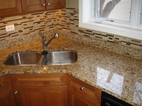 Cheap Bathroom Renovation Ideas Giallo Ornamental Granite Countertop And Matching Glass