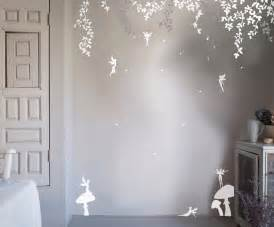 enchanted forest wall stickers bambizi enchanted fairy forest wall sticker