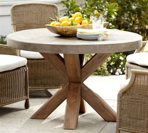 Pottery Barn Patio Table Abbott Dining Table Pottery Barn