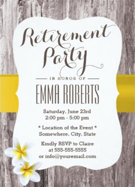 Retirement Flyer Template Shatterlion Info Retirement Flyer Template