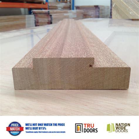 Wide Door Jamb by Door Jamb Solid Meranti Timber External 138mm Wide