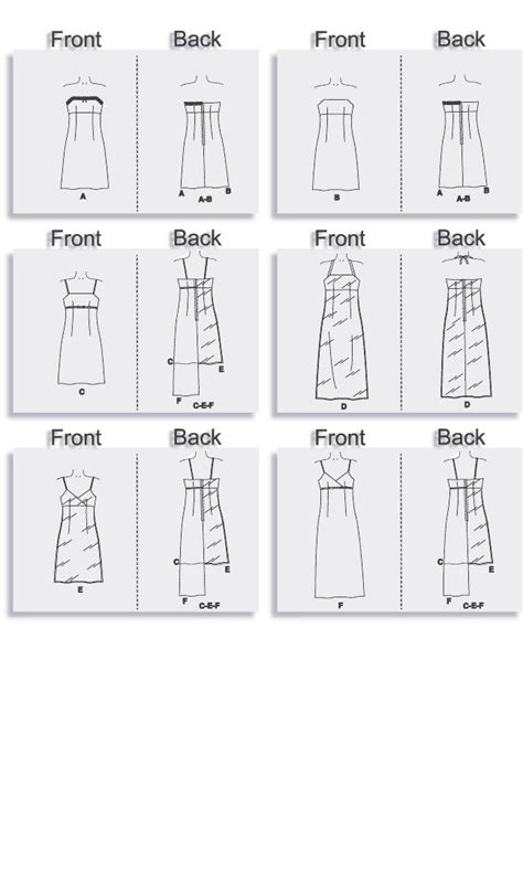 dress pattern names mccall s 4440 fitted bodice a line dresses