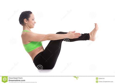 boat pose exercise video boat yoga pose stock photo image 52840104