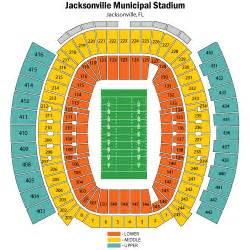 Jaguar Stadium Seating Chart Jacksonville Jaguars Vs San Diego Chargers December 05