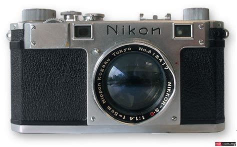 nikon  rangefinder camera