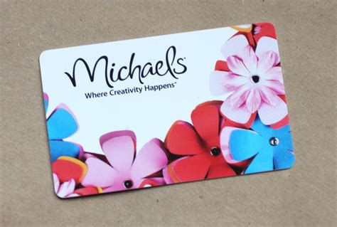 Michaels Craft Store Gift Card - 500 fan giveaway repeat crafter me