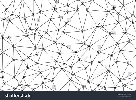 seamless network pattern seamless abstract network pattern stock vector