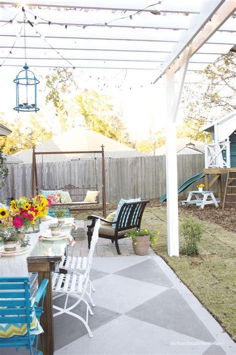 porch and patio paint 25 best ideas about painted concrete patios on