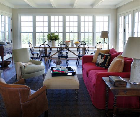 Americana Interior Design by Updated Americana Traditional Dining Room New York