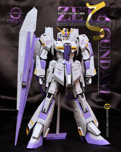 Mg 1 100 Zeta Gundam Ver 2 0 dreamhobby studio refitting suite for mg 1 100 msz 006